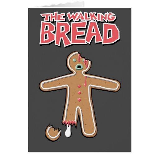 The Walking Dead Gingerbread man Greeting Card