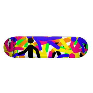 the walking man... skateboard decks
