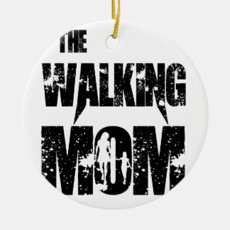 The Walking Mom Christmas Ornament
