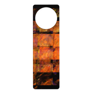 The Wall Abstract Art Door Knob Hangers