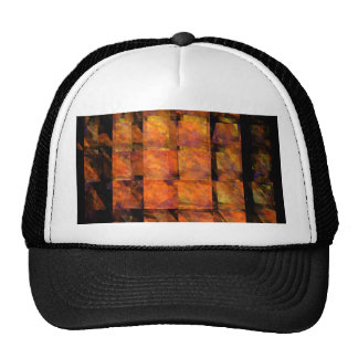 The Wall Abstract Art Hat