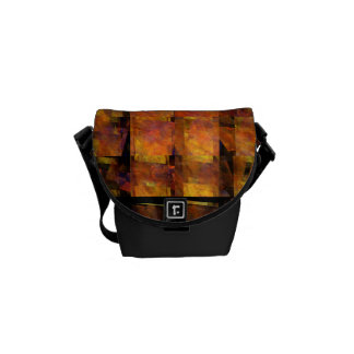 The Wall Abstract Art Mini Bag Messenger Bag