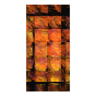 The Wall Abstract Art Photo Card