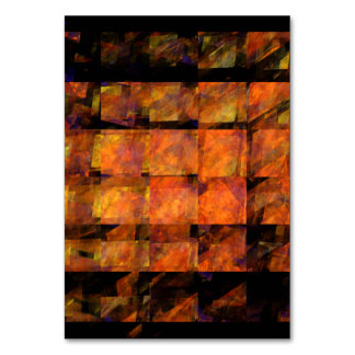 The Wall Abstract Art Table Card