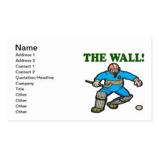 The Wall Business Card Templates
