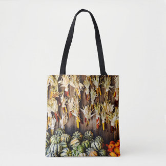 The Wall of Fall Tote Bag