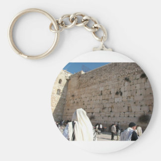 The Wall of the Sorrows in Jerusalem, City Saint Key Ring