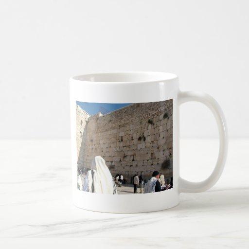 The Wall of the Sorrows in Jerusalem, City Saint Mug