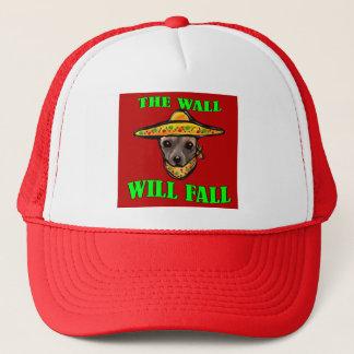 THE WALL WILL FALL TRUCKER HAT