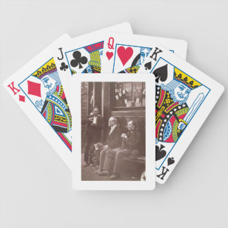 The Wall Worker, 1876-77 (woodburytype) Bicycle Playing Cards
