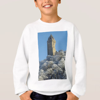 The Wallace Monument Stirling Scotland in winter Sweatshirt