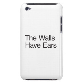 The Walls Have Ears iPod Case-Mate Cases