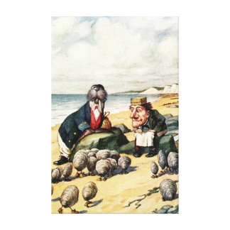The Walrus and the Carpenter Canvas Print