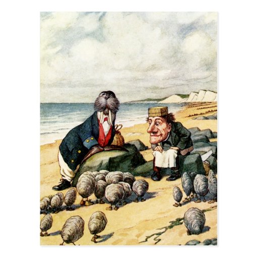 The Walrus and the Carpenter Postcards