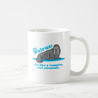 The Walrus Vampire Coffee Mug
