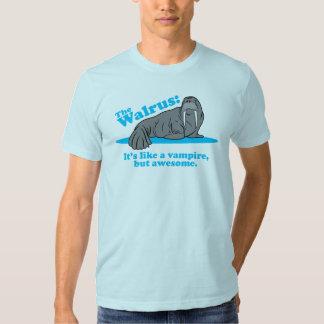 The Walrus Vampire Tee Shirts