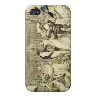 The Waltz (coloured engraving) Case For The iPhone 4
