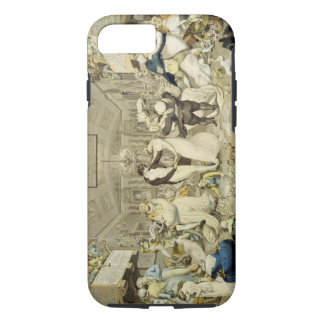 The Waltz (coloured engraving) iPhone 8/7 Case