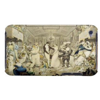 The Waltz (coloured engraving) iPod Case-Mate Case