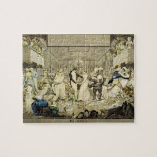 The Waltz (coloured engraving) Jigsaw Puzzle