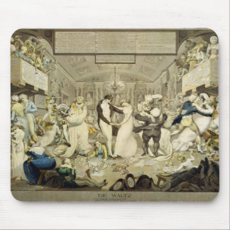The Waltz (coloured engraving) Mouse Mat
