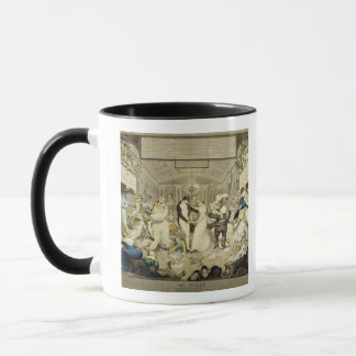 The Waltz (coloured engraving) Mug