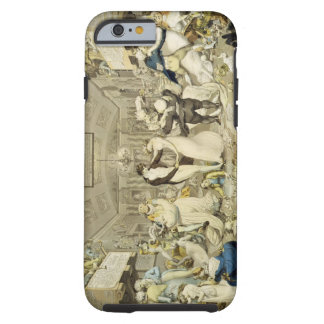 The Waltz (coloured engraving) Tough iPhone 6 Case