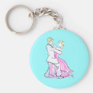 The Waltz Dancers Graphic design Key Chain
