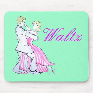 The Waltz Dancers Graphic design Mousepads