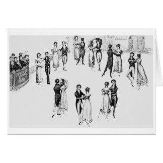 The Waltz, Greeting Card
