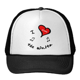 the Waltz Items - I Heart the Waltz Mesh Hats