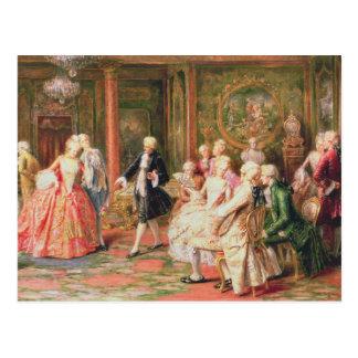 The Waltz Postcard