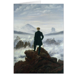 The Wanderer above the Sea of Fog, 1818 Card