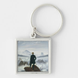 The Wanderer above the Sea of Fog, 1818 Key Chain