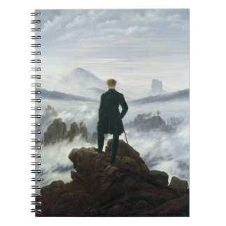 The Wanderer above the Sea of Fog, 1818 Note Book