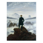 The Wanderer above the Sea of Fog, 1818 Postcard