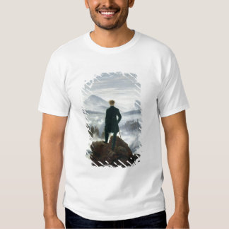 The Wanderer above the Sea of Fog, 1818 T Shirt