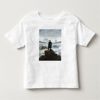 The Wanderer above the Sea of Fog, 1818 Toddler T-Shirt
