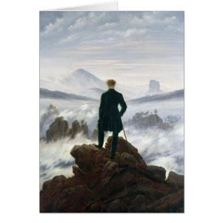 The Wanderer above the Sea of Fog Card