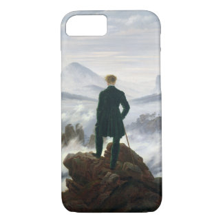 The Wanderer above the Sea of Fog iPhone 8/7 Case