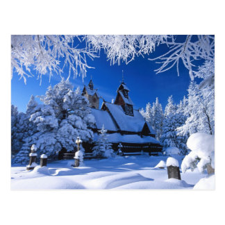 The Wang Temple - Karpacz, Poland Postcard