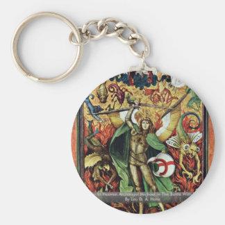 The War In Heaven Archangel Michael In The Battle Key Ring