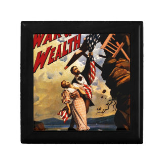 The war of Wealth Small Square Gift Box