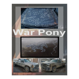 The War Pony Large Poster