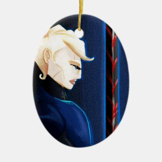 The Warrior Christmas Ornament