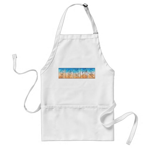 The Warriors Aprons