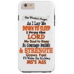 The Warrior's Prayer   MS Tough iPhone 6 Plus Case
