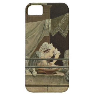 The Washerwoman, engraved by J. Laurent Julien (c1 iPhone 5 Cases