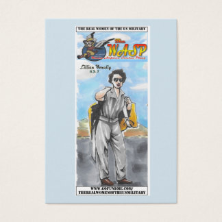 The WASP Lillian Yonally trading card