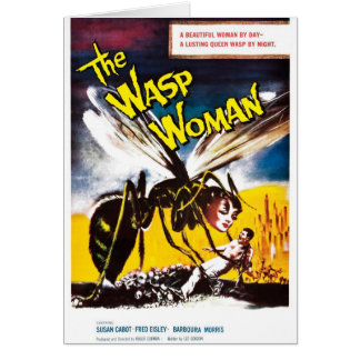 """The Wasp Woman"" Card"